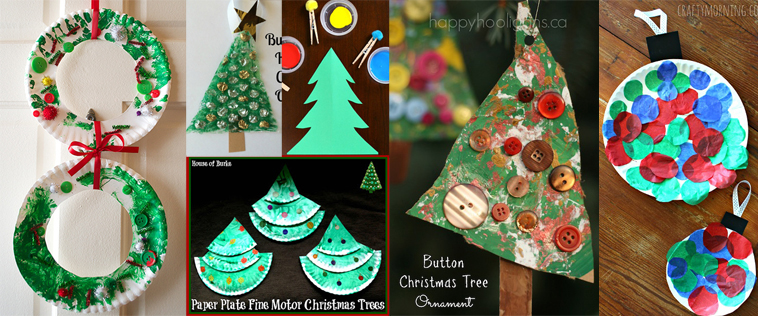 Christmas Ornaments Crafts For Prek