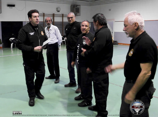IPM INTERNATIONAL POLICE AND MILITARY MARTIAL ARTS UNION CONGRESO MADRID