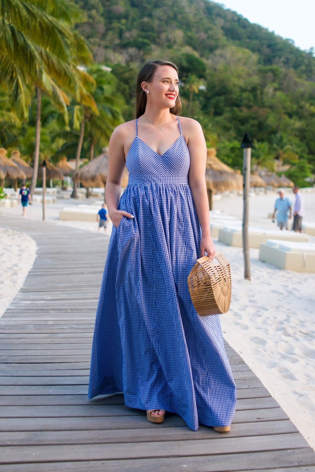 Christmas wedding dress jcrew - J Crew Gingham Maxi Dress