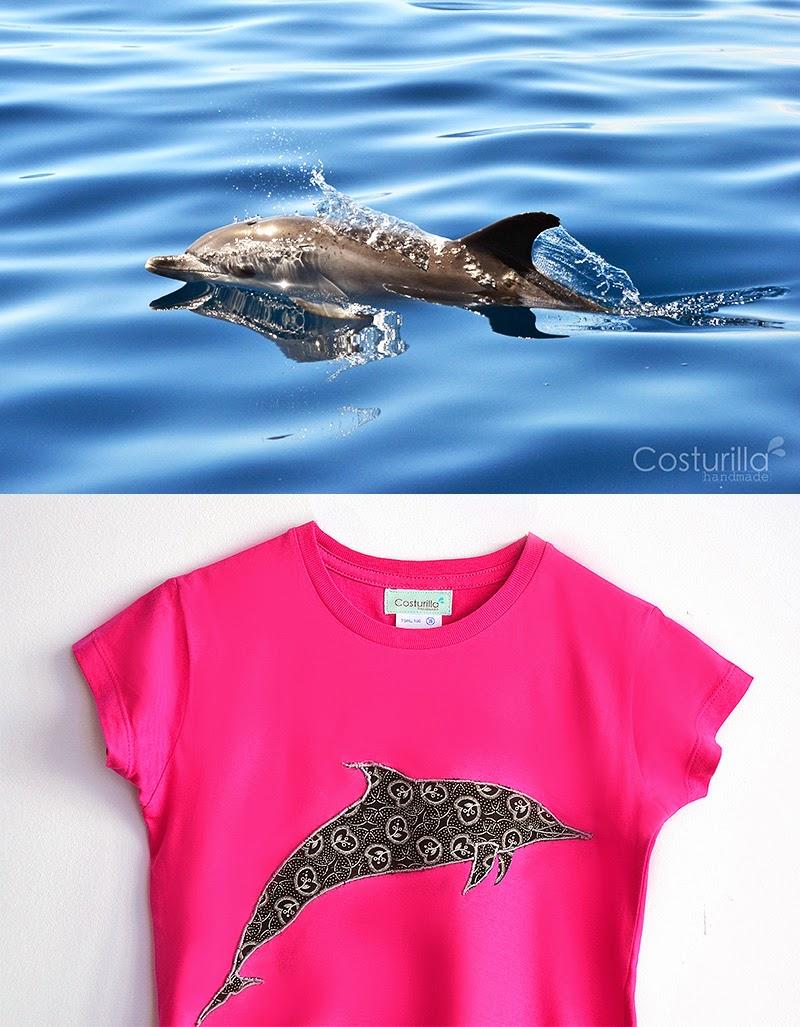 Delfin moteado, Costurilla Handmade