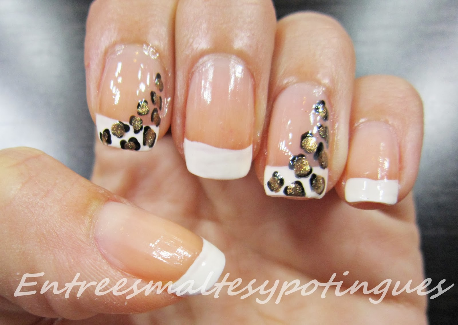 Uas Leopardo Colores Top Great Manicura Nail Art Animal Print