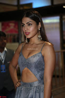 Rhea Chakraborty in a Sleeveless Deep neck Choli Dress Stunning Beauty at 64th Jio Filmfare Awards South ~  Exclusive 168.JPG