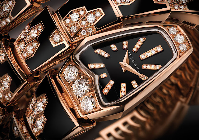 Bulgari Serpenti Watch detail