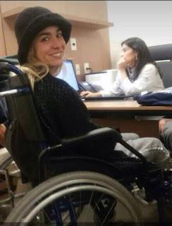 Estado de salud de Pamela Rojas