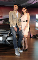Abhay Deol and Aditi Rao Hydari launched the Mercedes-Benz B180