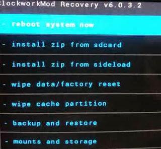 reboot on HTC Butterfly X920D