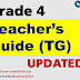 TEACHER'S GUIDE (TG) Grade 4 K-12 UPDATED!!