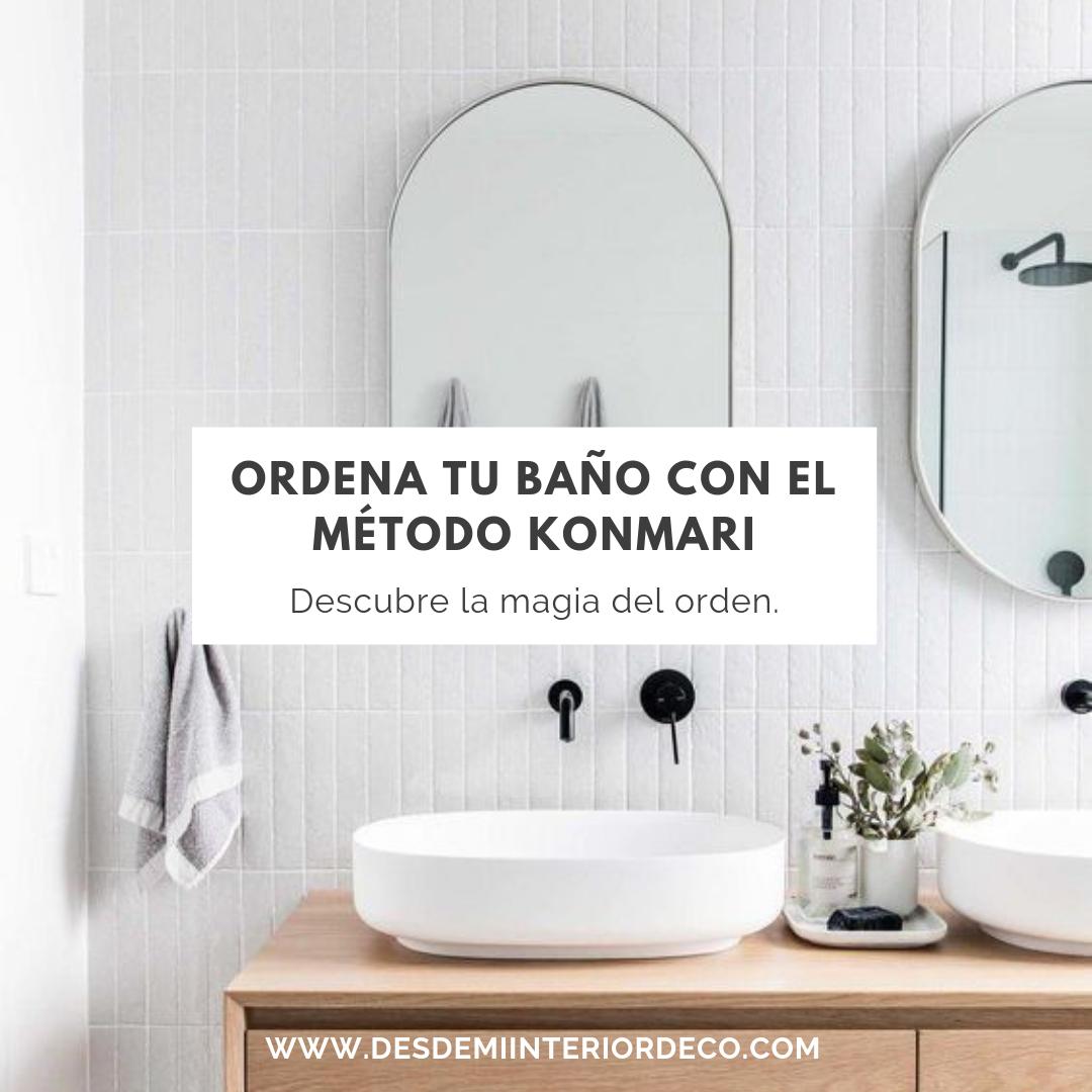 como ordenar tu baño con el método konmari de forma exitosa con Marie Kondo la magia del orden