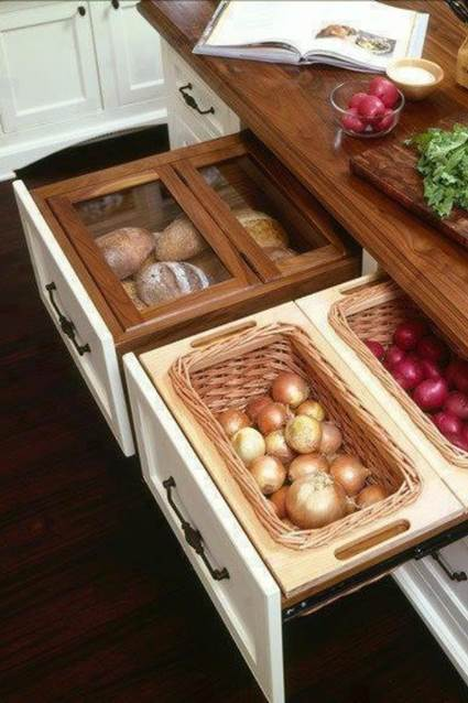 Clever storage ideas for small kitchens 7