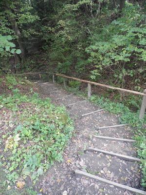 Ciężkowice - droga do wodospadu