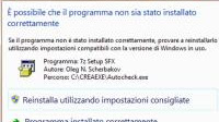 Disabilitare la compatibilità programmi in Windows se non è installato correttamente