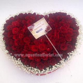 buket mawar surabaya