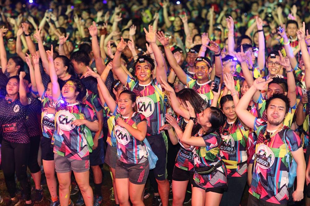 CM Blacklight Run in Manila