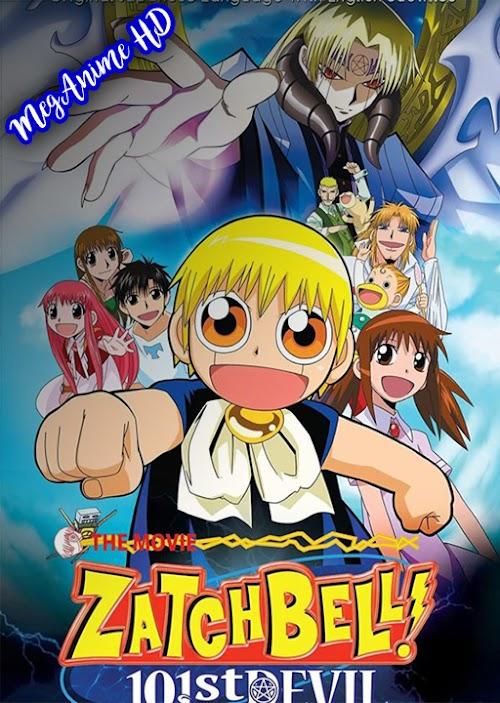 Konjiki no Gash Bell!!: 101 Banme no Mamono | Sub Español | Mega | HD