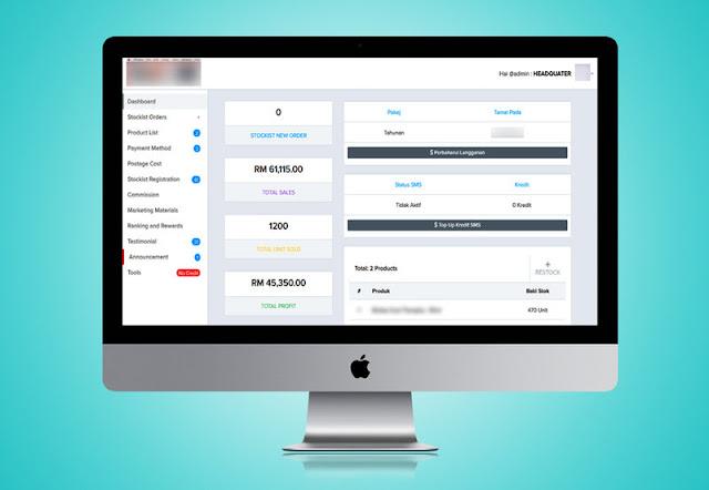 Sistem Agent Stockist Online 2018