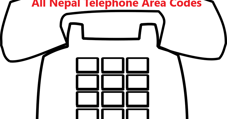 All Nepal Telephone Area Codes (STD Codes) - Nelomasi