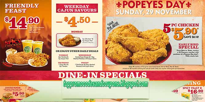 Popeyes coupons in waldorf md