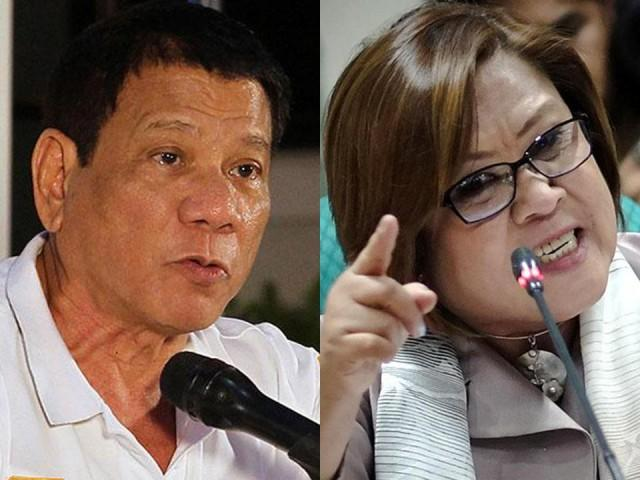 Duterte Fires Back at De Lima: 'When I See The Video, I Lose My Appetite'