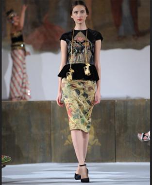 Model Baju Batik Modern Wanita Karya Desainer Indonesia Fashion