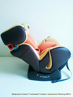 CocoLatte CL858 Group 0+, 1 dan 2 (New Born - 25kg) Convertible Baby Car Seat