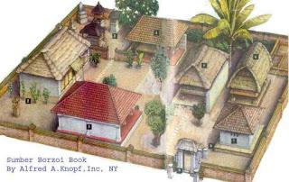 Gambar Desain Rumah Adat Bali 2