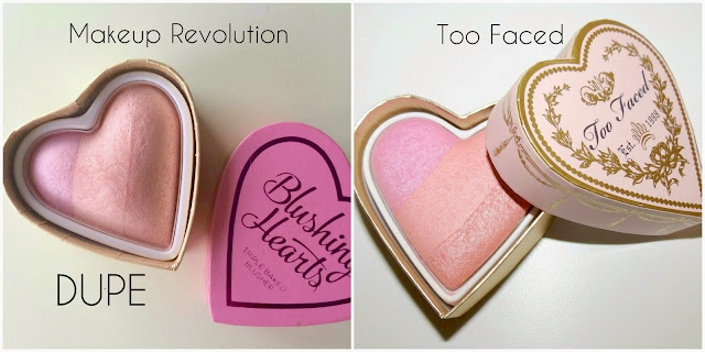 Too Faced Heart Blush Dupe