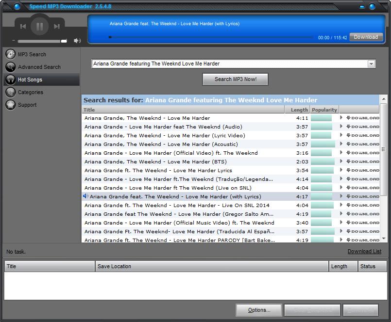 Speed MP3 Downloader Full Version