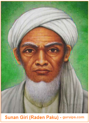 Gambar Sunan Giri (Raden Paku)