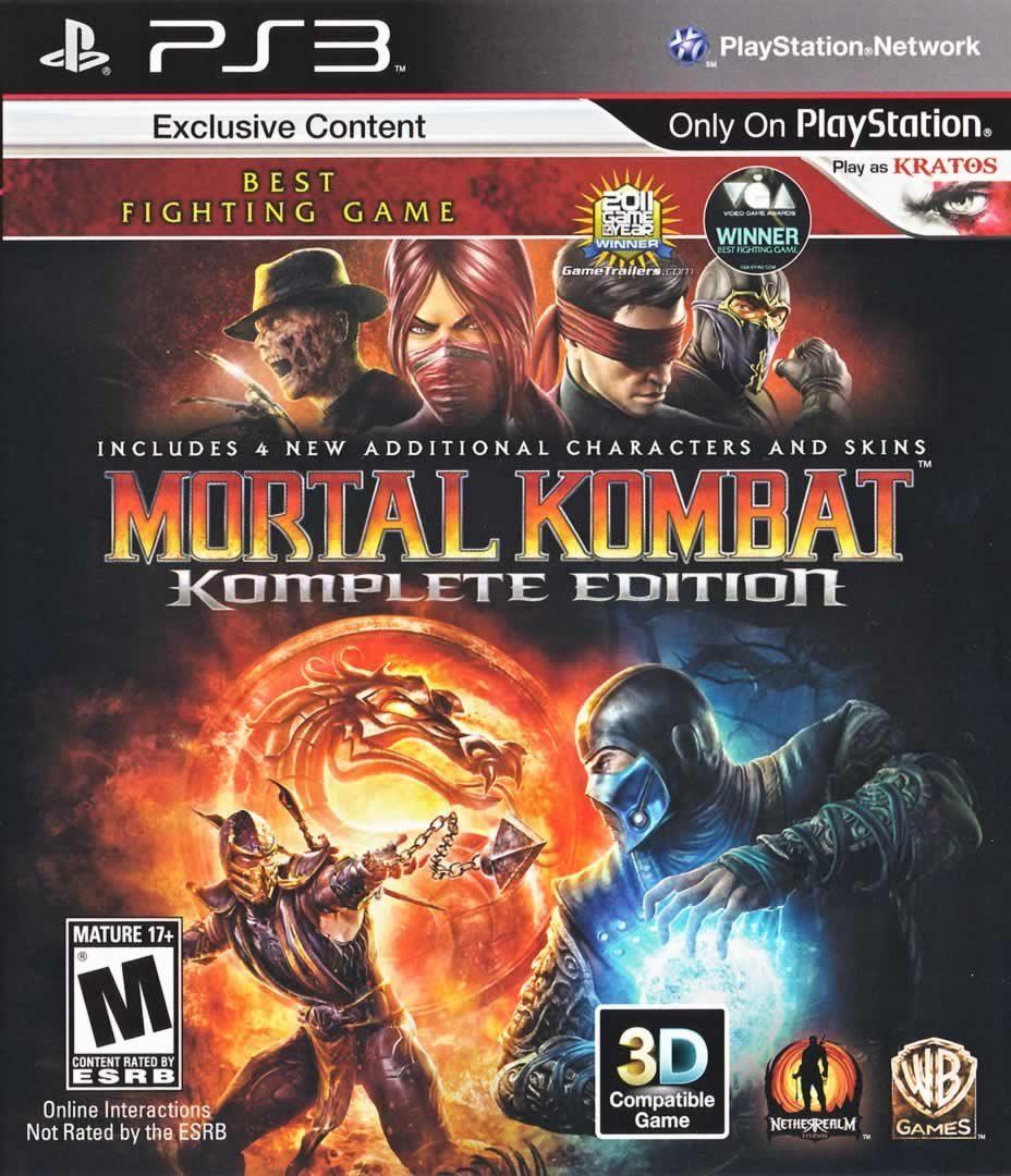 Download Mortal Kombat 9 Game PS3 Full Version 2012/Eng