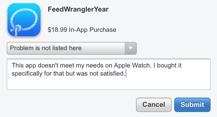 Get an App Refund from Apple