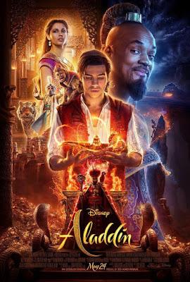 Aladdin 2019 DVD R1 NTSC Latino