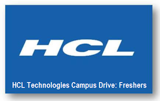 Mega Off Campus at HCL for Freshers 2013/2014/2015/2016 Passout (300 Openings)