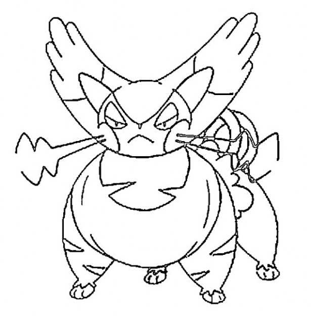 Pokemon And Coloring Pages