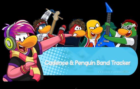 Cadence & Penguin Band Tracker Noviembre 2016 - Horarios y Trucos