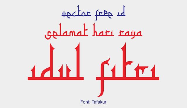 Font Tafakur