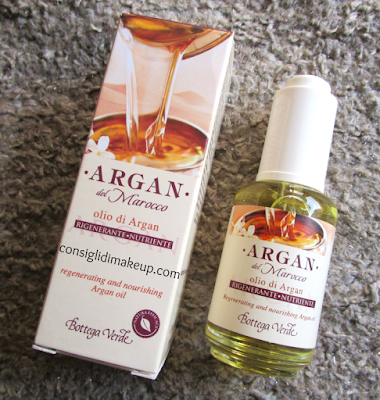 Review: olio multifunzione Argan del Marocco - Bottega Verde