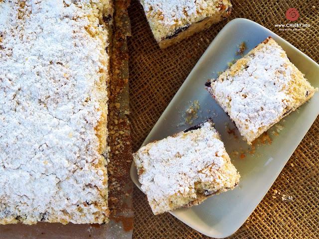 Ciasto kefirowe z borówkami