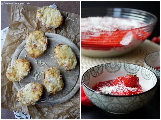 Experimente aus meiner Küche: Partybrötchen und Spaghetti-Eis-Dessert