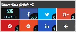 Jumbo Social sharing widget, floating social share bar for blogger, blogger social sharing counter widget