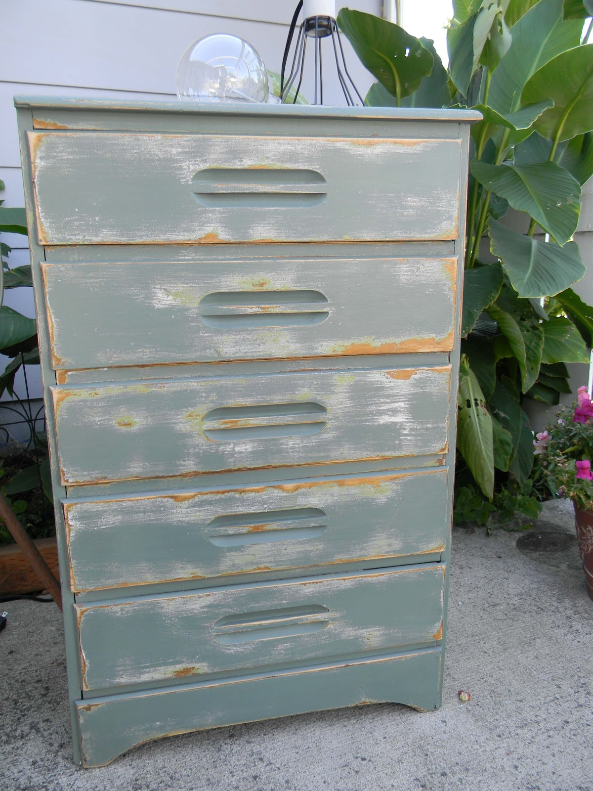 Emily S Up Cycled Furniture Tall Blue Grey Distressed Dresser: Emily's Up-cycled Furniture: Don't Sweat The Small Stuff