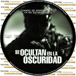 GALLETA SE OCULTAN EN LA OSCURIDAD - BE AFRAID - 2017