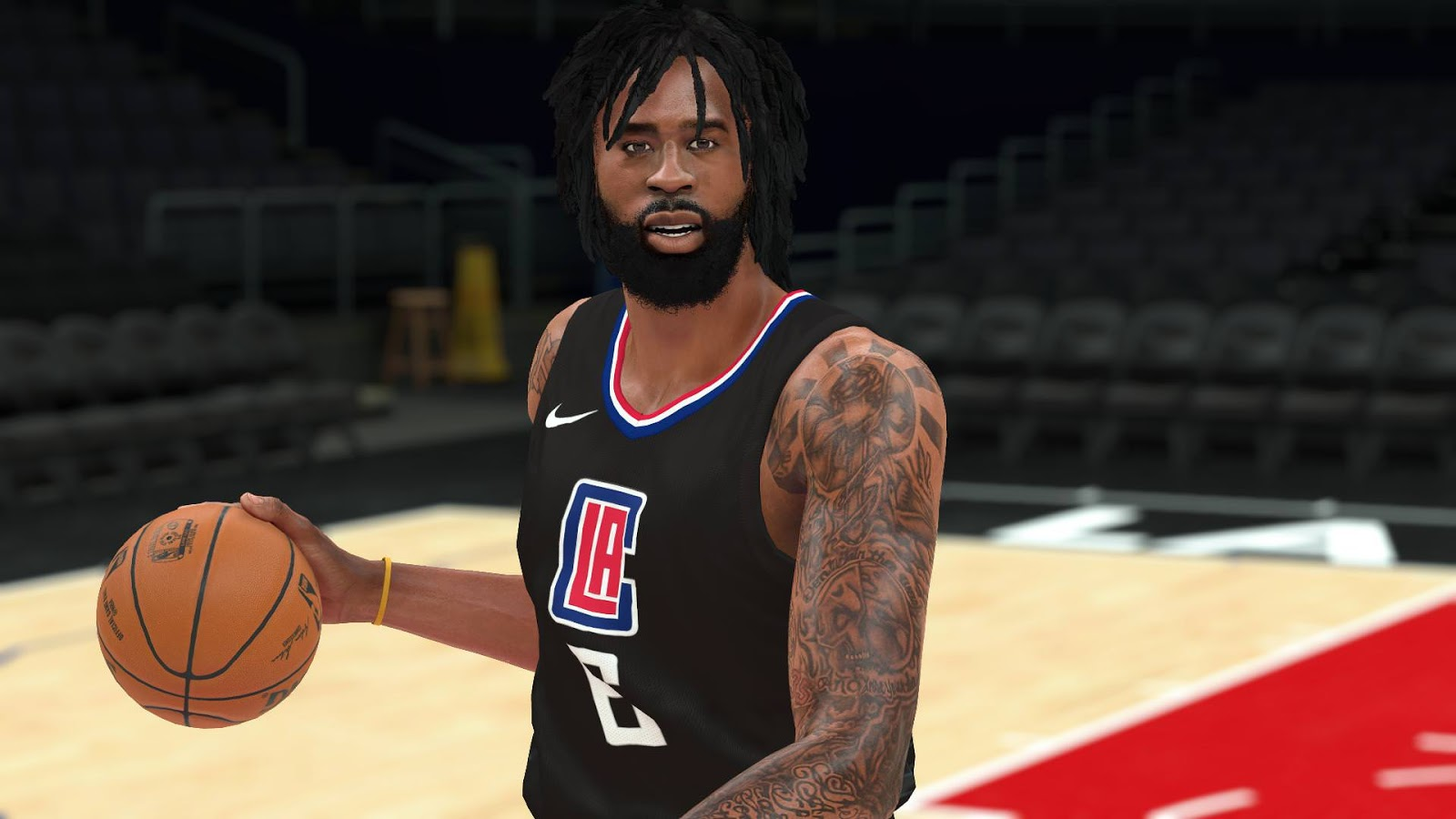 NBA 2K18 DeAndre Jordan Cyberface by YG13 RELEASED