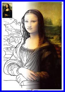 Monalisa - Leonardo da Vinci - www.professorjunioronline.com