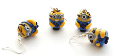 Minion Earrings