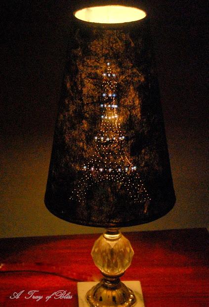 Tray Of Bliss Eiffel Tower Pinhole Lamp Diy