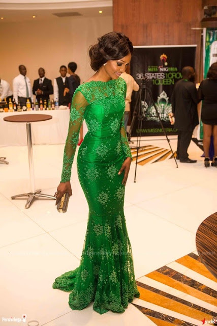 MY BEST DRESSED FROM THE MISS NIGERIAN PAGENT SHOW