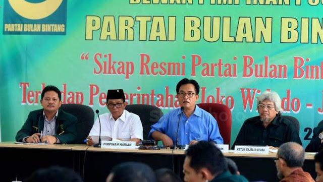 Internal PBB Terus Bergolak Sejak Yusril Jadi Pengacara Jokowi-Ma'ruf