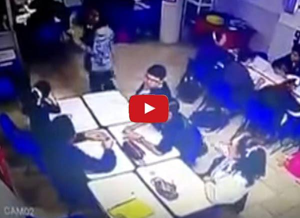 Estudiante mexicano mata a su maestra y sus compañeros