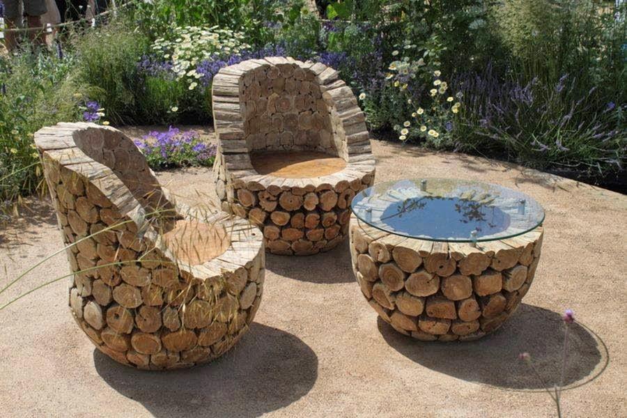 Amazing & Creative DIY Comfortable Outdoor Furniture ...