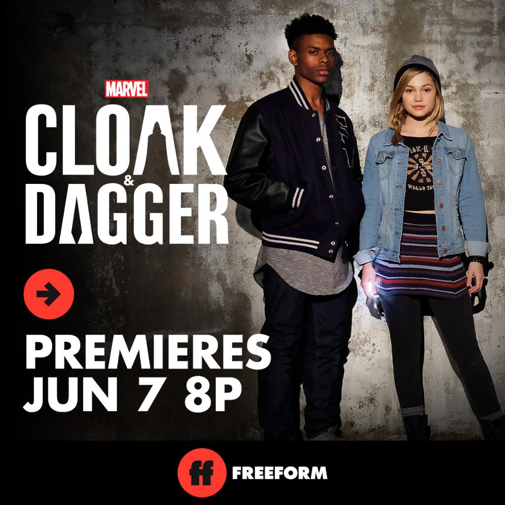 Marvel's CLOAK & DAGGER Sneak Peek (Episode 1) – Launches